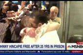 Man freed after serving 25 years in prison