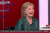 Clinton not envious of Biden's 'liberation'