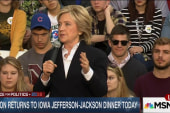 Clinton's biggest opponent could be herself