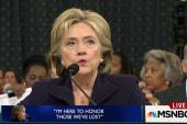 What Clinton's marathon testimony revealed
