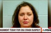 Arraignment for OSU crash suspect