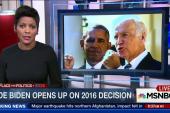 Joe Biden opens up on 2016 decision