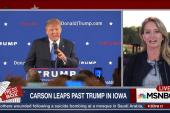 Carson Leapfrogs Trump In Iowa Polls