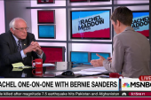 Sanders draws distinction on gay rights