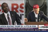 Trump won't admit that Carson leads in Iowa
