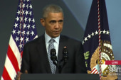 President Obama recalls getting pulled over