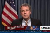 Sen. Sherrod Brown backs Hillary Clinton