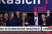 Kasich frustrated with Republican field