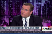 'Banker for Bernie' speaks out