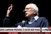 A new hard-edged phase of Sanders campaign?