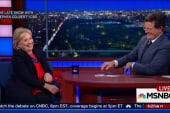 Candidates making rounds on late night TV