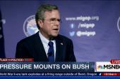 Pressure mounts on Bush ahead of GOP debate