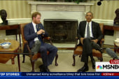 Prince Harry pays visit to President,...