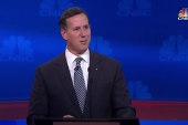 Rick Santorum talks 'pints and politics'