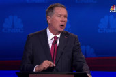 Kasich jabs opponents' 'empty promises'