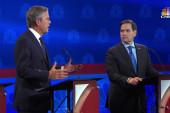 Jeb Bush takes jabs at Marco Rubio