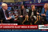 Trump says he kept the debate short