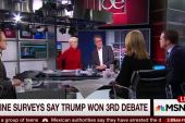 Debate moderators criticized for performance