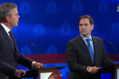 Rubio and Bush spar over Senate votes