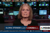 Gloria Steinem plays Hardball