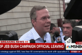 Top Jeb Bush campaign official leaving