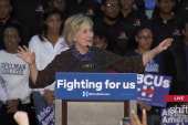 Clinton interrupted by Black Lives Matter