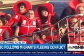 NBC follows migrants fleeing conflict