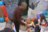 Trick or Treat with President and First Lady
