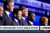 GOP campaigns meet to plot debate strategy