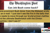 Donors feeling uncertain about Jeb Bush