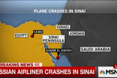 Plane bound from Egypt to Russia crashes