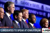 GOP forum last big cattle-call before caucus