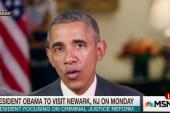 Obama to visit Newark for criminal justice...