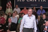 Jeb Bush has big money, struggles on message