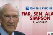 Alan Simpson remembers Fred Thompson