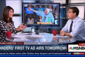 Sanders launches first TV ad