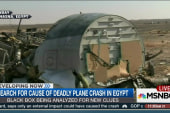 Search for cause of plane crash in Egypt