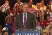 Bush pushes new 'Jeb Can Fix It' Slogan