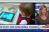 New study: Kids going 'mobile' younger