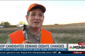GOP candidates demand debate changes
