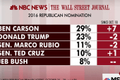Carson sees biggest lead over Trump yet: poll