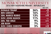 Rubio triples support in New Hampshire