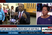 Carson at the top of the GOP field