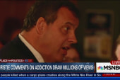 Christie opens up on friend's drug addiction