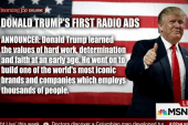 Donald Trump releases his first ads