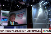 Trump: I've heard for years about Rubio's...