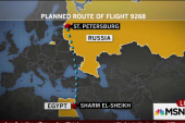 Suspicion of ISIS involvement in jet crash