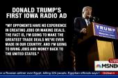 Donald Trump runs first radio ads