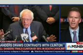 Sanders calls out Clinton on Iraq War