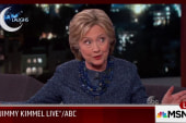 Clinton joins Kimmel, weighs in on Jeb,...